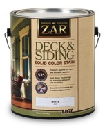 ZAR Solid Exterior Deck&Siding Stain