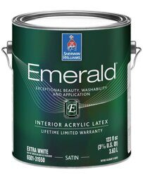 Emerald Interior Acrylic Latex Paint Satin