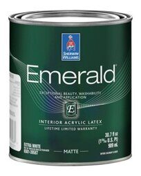 Emerald Interior Acrylic Latex Paint Matte