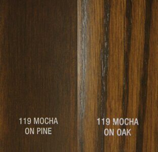 ZAR Wood Stain Oil Based 119 Mocha