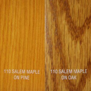 ZAR Wood Stain Oil Based 110 Salem Maple