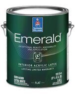 Emerald Interior Acrylic Latex Paint Flat
